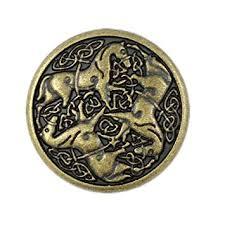 Amazon.com: Bezelry 10 Pieces Celtic <b>Horses</b> Metal Shank Buttons ...