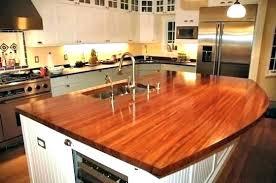 ikea wood countertop refinishing a