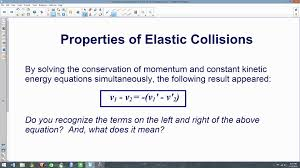 elasic collisions without mass 8