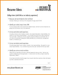 Sample Resume Objectives Hospitality Management New Resume Objective