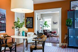 paint swatch wall orange dining room paint swatch wall art