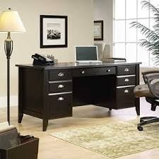 home office desks wood. fine office sauder wood executive desk  shoal creek in home office desks