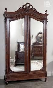 vintage antique furniture wardrobe walnut armoire. antique french louis xvi walnut bedroom set armoire vintage furniture wardrobe
