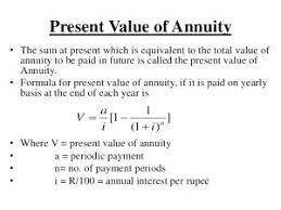Pv Of Annuity Formula Math Dudui Club