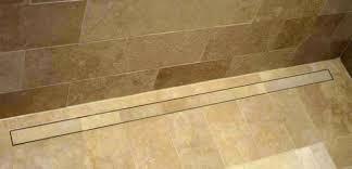 shower systems schluter kerdi line drain installation