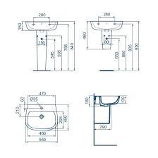 Раковина <b>Ideal Standard Esedra</b> T279901 (550х450 мм ...