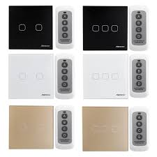 Arduino Wireless Light Switch Sesoo 2 3gang Smart Wireless Remote Control Touch Wall Light