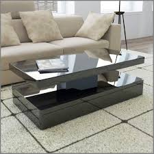 amazing high gloss black coffee table with led lighting tiffany range black high gloss coffee table