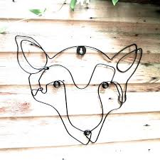fox wire wall art warehouse clearance s london garden trading