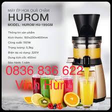 May ep chậm máy ép trái cây Hurom HU-19SGM cao cấp