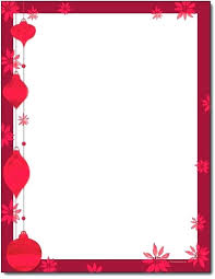 Letter Borders For Word Stationery Download Now Free Letter Borders Christmas Stationary