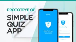 Designer Trivia Simple Quiz App Prototype Adobe Xd