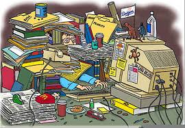 messy desk clipart.  Desk Download This Image As Intended Messy Desk Clipart