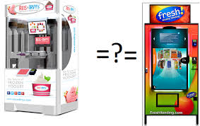 Froyo Vending Machine Unique Generation NEXT Franchise Brands Inc Frozen Yogurt Hot Franchise