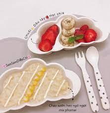 Thực đơn ăn dặm kiểu Nhật kết hợp BLW 8 tháng của bé Su Gold - Thực đơn ăn  dặm