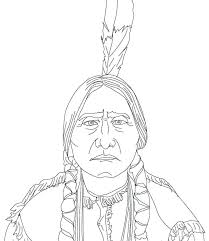 Coloring Pages Free Printable Native American Coloring Pages Wolf