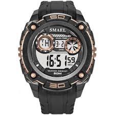 Fashion <b>Men Watches 50M</b> Waterproof Led Sport Digital ...