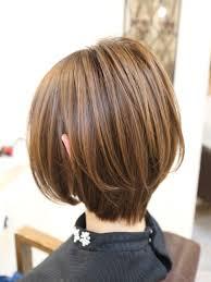 冬は首もとすっきりのショートヘアが人気です 香川県高松市で大人女性
