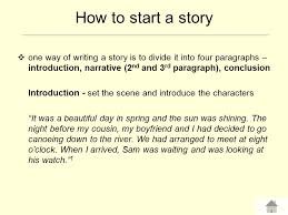 how to write a narrative essay introduction how to start a narrative essay intro