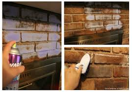 How To Clean A Sooty Fireplace With Household Items  Brick Cleaning Brick Fireplace Front