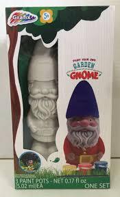 grafix paint your own garden gnome