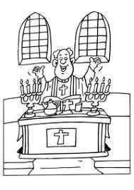 Prete Da Colorare Disegno Catechismo2 Categoria Religione Da