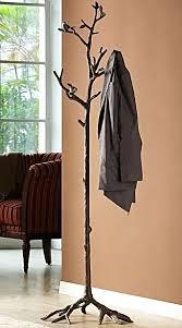 Coat Rack Tree Extraordinary Bird On Branch Lovebird Coat Rack Hat Hall Tree Stand Bronze Finish