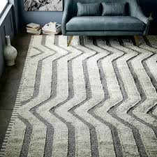 arrow channels dhurrie rug
