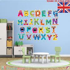 monster alphabet nursery