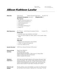 Sample Resume Job Descriptions Download By Sample Resume For Nurses ...