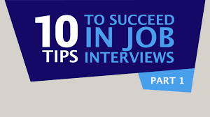 tips to succeed in job interviews part career the altran 10 tips to succeed in job interviews part 1 career the altran web tv show