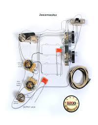 fender vintage jazzmaster wiring kit pots switch slider caps jazzmaster wiring diagram at Jazzmaster Wiring Diagrams