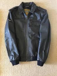 superdry uk official nwot mens superdry benjamin er leather jacket deep ink size medium superdry superdry dresses top designer