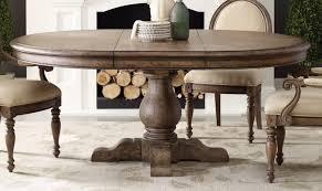 dining room furniture round pedestal table sets light wood large lighting leaves white circle