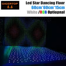 Led Panel Stage Lighting Us 60 0 Gigertop 60cm X 60cm Led White Rgb Panel Dancing Dance Floor Remote Control Stage Light Ktv Bar Party Disco Dj Club Led Effect In Stage