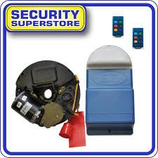 et blue roll up garage door kit