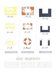 area rug size for living room what large of guide best throw sizes standard