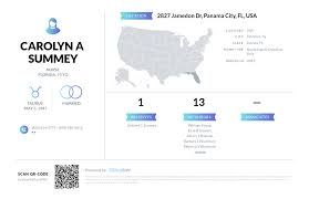 Carolyn A Summey, (850) 785-8612, 2827 Jamedon Dr, Panama City, FL ...