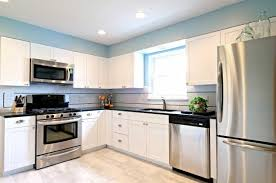 Creativity Kitchen Design White Cabinets Stainless Appliances I Intended