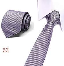 Mzzddld Fashion Silk Necktie Black And White Dot Tie Skinny