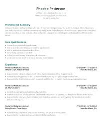 Examples Of Medical Assistant Resumes Enchanting Samples Of Medical Assistant Resumes Sample Resumes For Medical