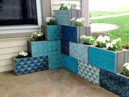 cinderblock furniture. Simple But Beautiful Cinder Block Planter Ideas For Your Garden (10) Cinderblock Furniture
