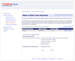 you have a couple of options when making a payment to your credit card in our banking
