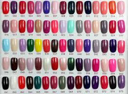 Nail Polish Gel Colours Absolute Cycle