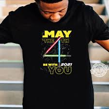 Star Wars May The 4th Be With You 2021 Lightsabers Shirt