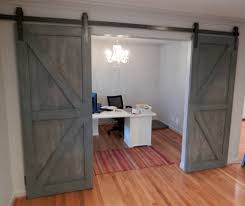 the quintessential barn door features a double z pattern on both the top and bottom we will stain or paint any color you would like