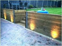 led fence lights outdoor lighting ideas a inviting best exterior malibu