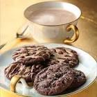 chocolate chai latte cookies