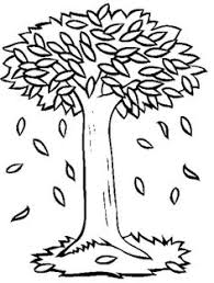 Small Picture Tree Autumn Without Leaves Coloring Page Tree Pinterest