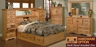 Bedroom Furniture Masterpiece Pier Group American Made Beauteous Bedroom Oak Furniture